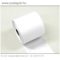 9cm-es fehér feliratozható szalag