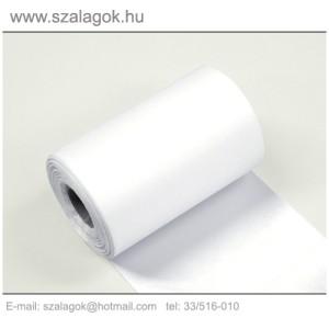 11cm-es fehér feliratozható szalag