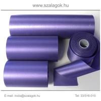 7cm széles szatén szalag 25m C10-lila