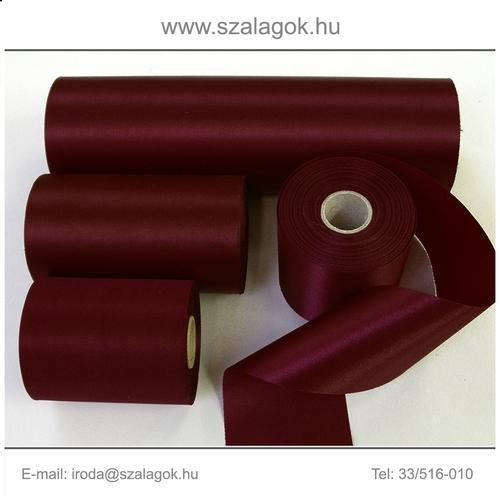 7cm széles szatén szalag 25m C13-bordó 799d865586