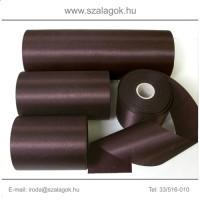 7cm széles szatén szalag 25m C16-sötétbordó