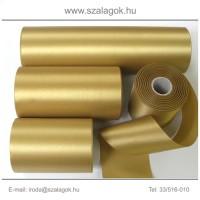 7cm széles szatén szalag 25m C20-arany