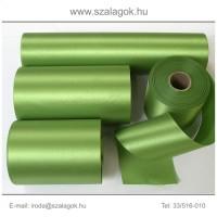 7cm széles szatén szalag 25m C35-fűzöld