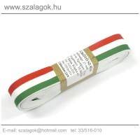 23mm széles szövött nemzeti színű szalag 10m/cs.