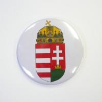 Jelvény Magyarország kiscímerével, 44 mm-es