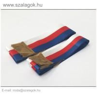 5 X 150cm-es Cseh szalag, arany rojtos - 2db/cs