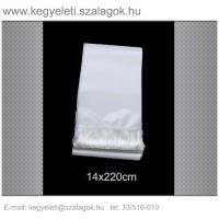 14cm x 220 cm  koszorúszalag, fehér rojttal. 10db/csomag