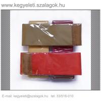 10cm x 220 cm  szatén koszorúszalag, 2db/csomag
