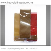 10cm x 220 cm  szatén koszorúszalag, 10db/csomag