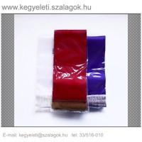 12 cm x 220 cm  szatén koszorúszalag, 2 db/csomag