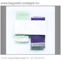 12 cm x 220 cm  szatén koszorúszalag, 10db/csomag