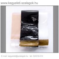 14 cm x 220 cm  szatén koszorúszalag, 2db/csomag