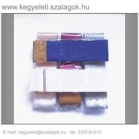 7cm x 200 cm  szatén sírcsokor szalag, 2db/csomag