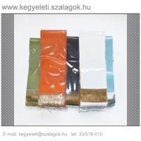 9cm x 200 cm  szatén sírcsokor szalag, 2db/csomag